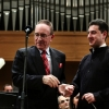 The Order was handed to Maestro on November 20, 2013 by the Ambassador Extraordinary and Plenipotentiary HE Bruno Scapini