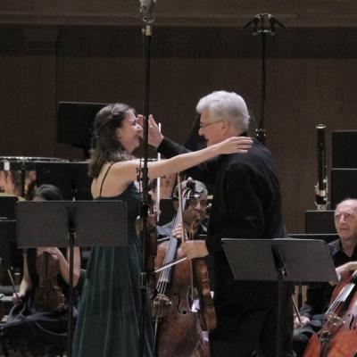 Diana Adamyan and Pinchas Zukerman