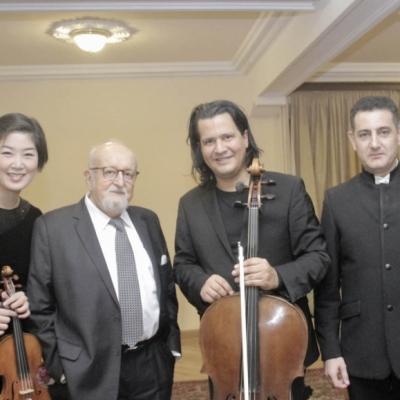 Ju-Young Baek, Krzysztof Penderecki, Claudio Bohorquez, Eduard Topchjan