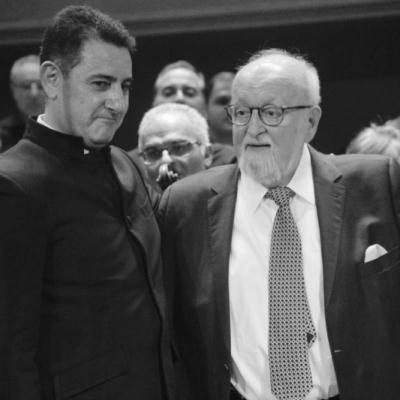 Krzysztof Penderecki and Eduard Topchjan