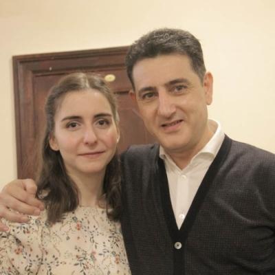 Diana Adamyan and Eduard Topchjan