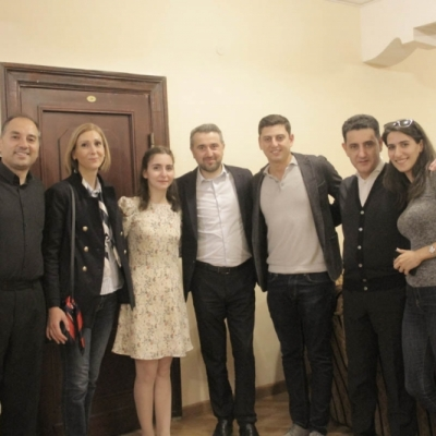 Arman Abrahamyan, Arpine Danielyan, Diana Adamyan, Ara Khzmalyan, Narek Hakhnazaryan, Eduard Topchjan, Ani Martikyan