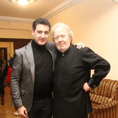 Eduard Topchjan and John Nelson