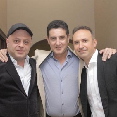 Alexander Chaushian, Eduard Topchjan, Simon Trpceski