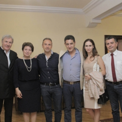 Pier Carlo Orizio, Ruzanna Sirunyan, Simon Trpceski, Eduard Topchjan, Anush Nikogosyan, Arman Padaryan