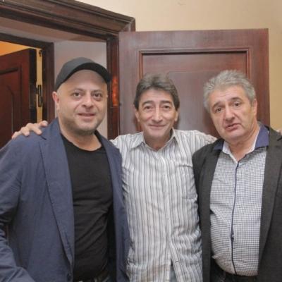 Alexander Chaushian, Suren Zakaryan, Vag Papian