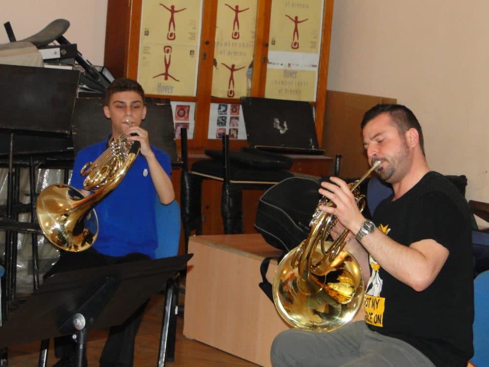 Artur Tatevosov and professor Paolo Rizzuto day 3
