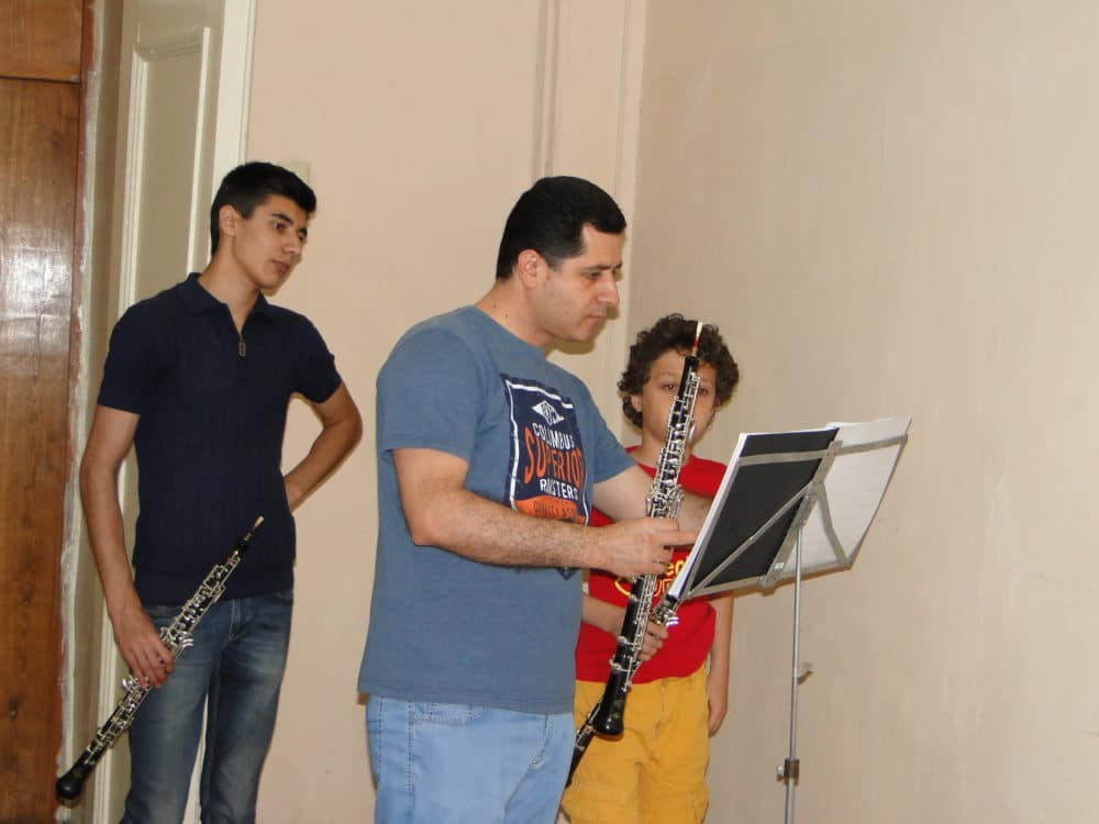 Grigor Melkumyan, Professor Harutyun Shakhkyan and Hayk Hekekyan day 3