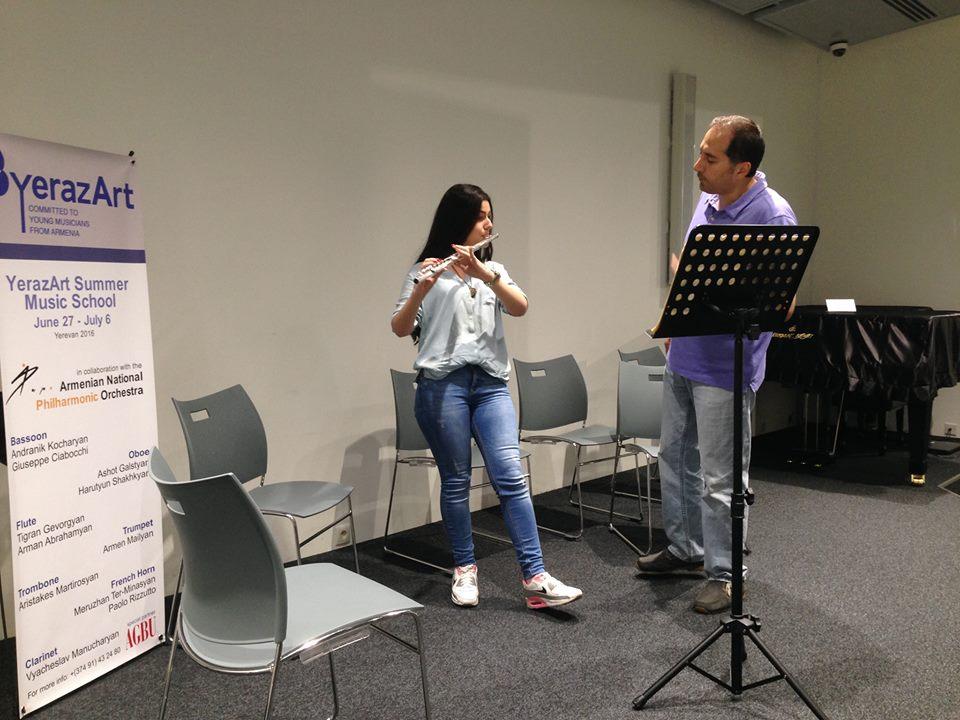 Mariam Gevorgyan and Arman Abrahamyan day 8