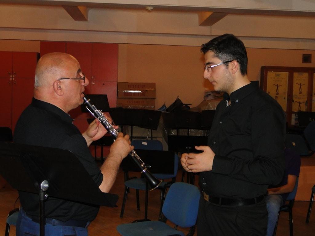 Principal clarinetist with Telman Mkhoyan day 5