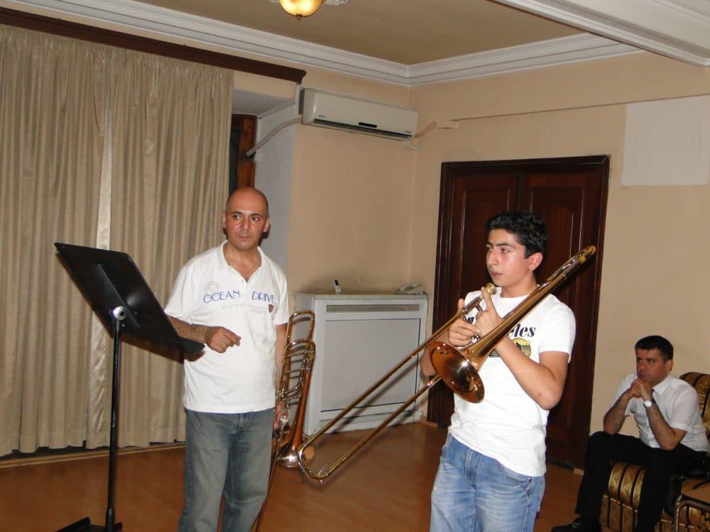 Trombonist Aristakes Martirosyan with Vardan Papikyan day 6