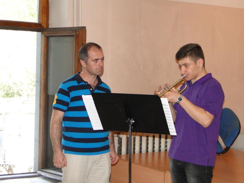 Armen Mailyan and Daniel Melkonyan master class day_2