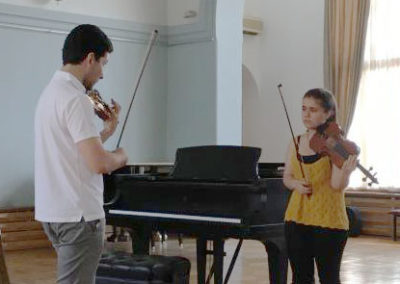 Sergey Khachatryan and Polina Sharafyan (2018)