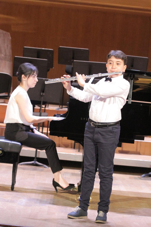 1. Avetis Eskenian, flute