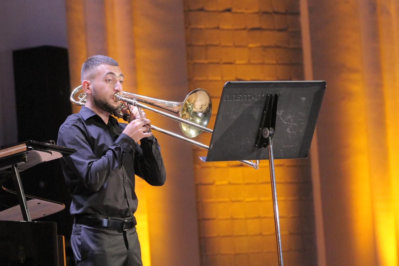 11. Narek Harutyunyan, trombone