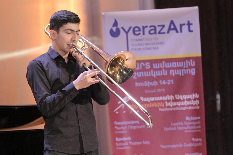 12. Vardan Papikyan, trombone
