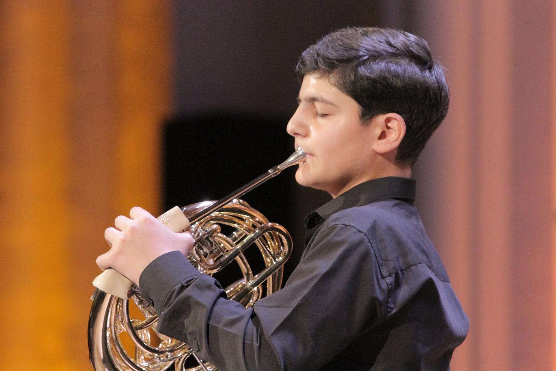15. Levon Adamyan, horn
