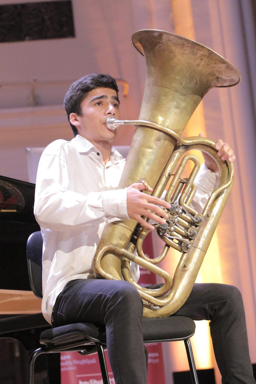 18. Gagik Karapetyan, euphonium
