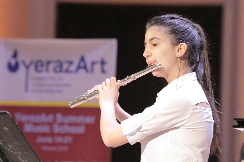3. Mariam Zhamakochyan, flute