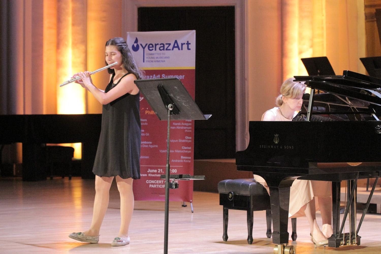 5. Mane Avagyan, flute