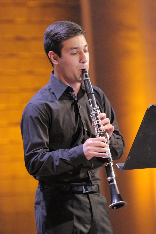 9. Avag Avagyan, clarinet
