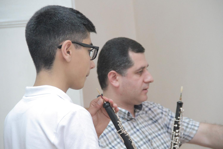 Ara Ivanyan, Harutyun Shakhkyan, oboe - Day 5