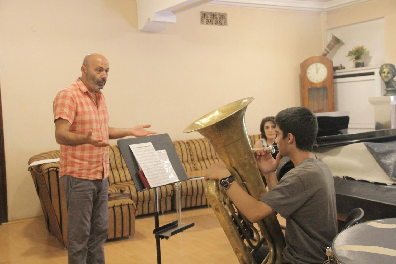 Araik Rubinyan, Gagik Karapetyan, euphonium - Day 5