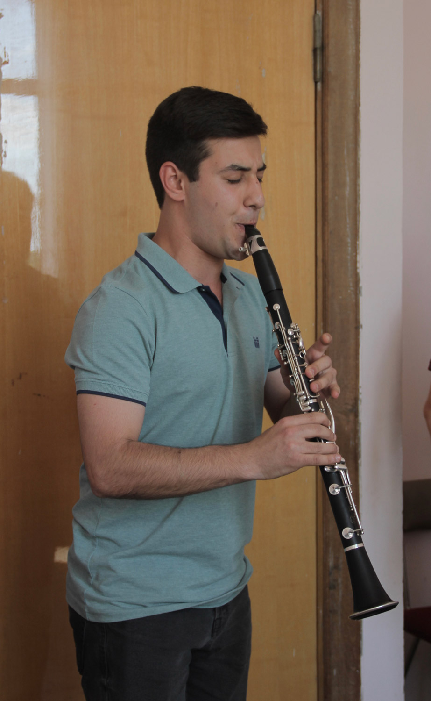 Avag Avagyan, clarinet - Day 1