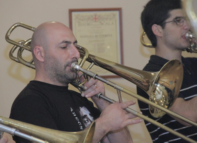 Hayk Ter-Margaryan, bass trombone - Day 3
