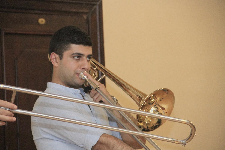 Stepan Amaryan, trombone - Day 3