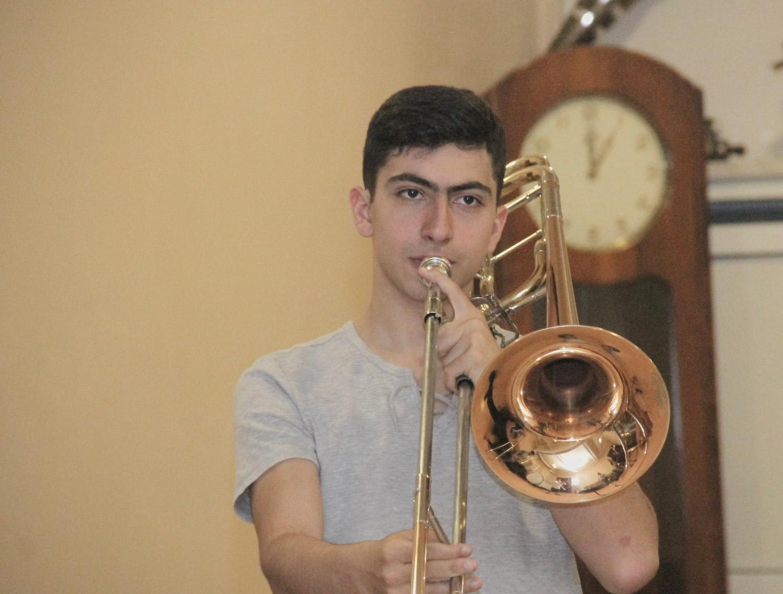 Vardan Papikyan, trombone - Day 3