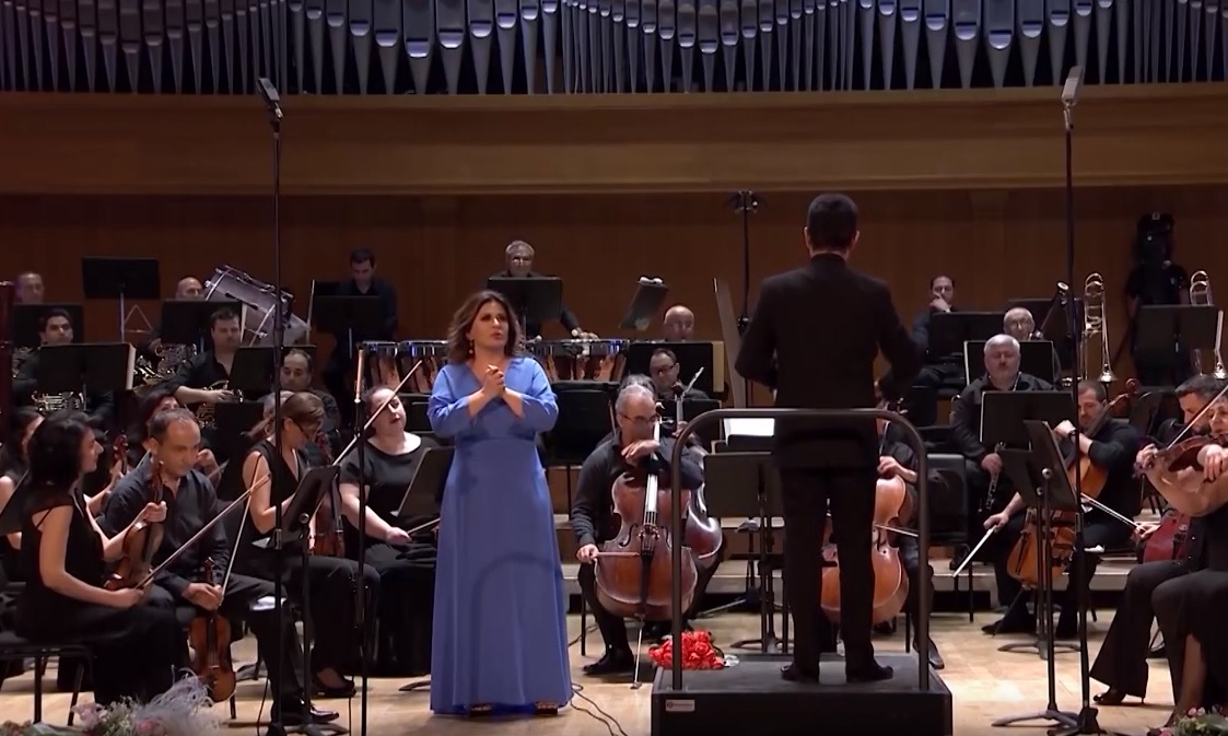 "Giordano: Maddalena's aria ""La mamma morta…"" from the opera ""Andrea Chénier"""