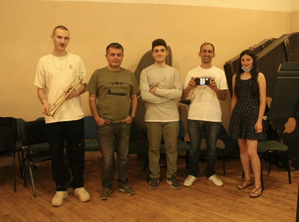 Antonio Donatelle, Arman Padaryan, Hrachya Martirosyan, David Onipchenko, Shahane Aghakaryan