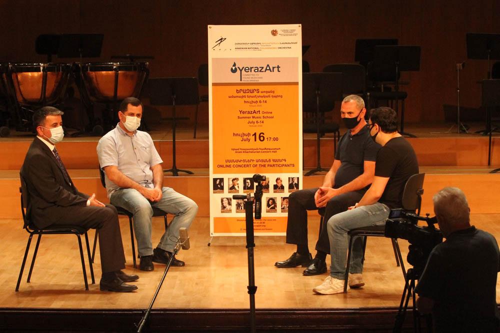 Discussion - Arman Padaryan, Harutyun Shakhkyan, Andranik Kochar, Narek Avagyan