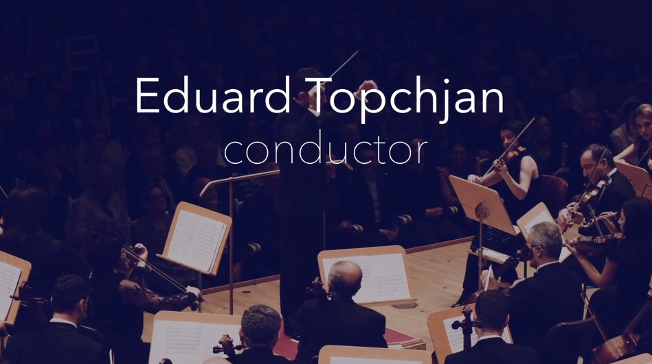 Eduard Topchjan, conductor – Konzerthaus Berlin