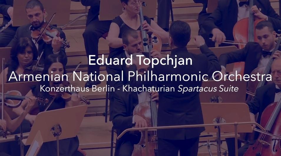 Khachaturian Spartacus Suite – Konzerthaus Berlin
