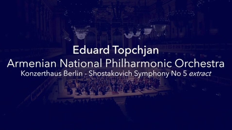 Shostakovich Symphony No.5 excerpt – Konzerthaus Berlin