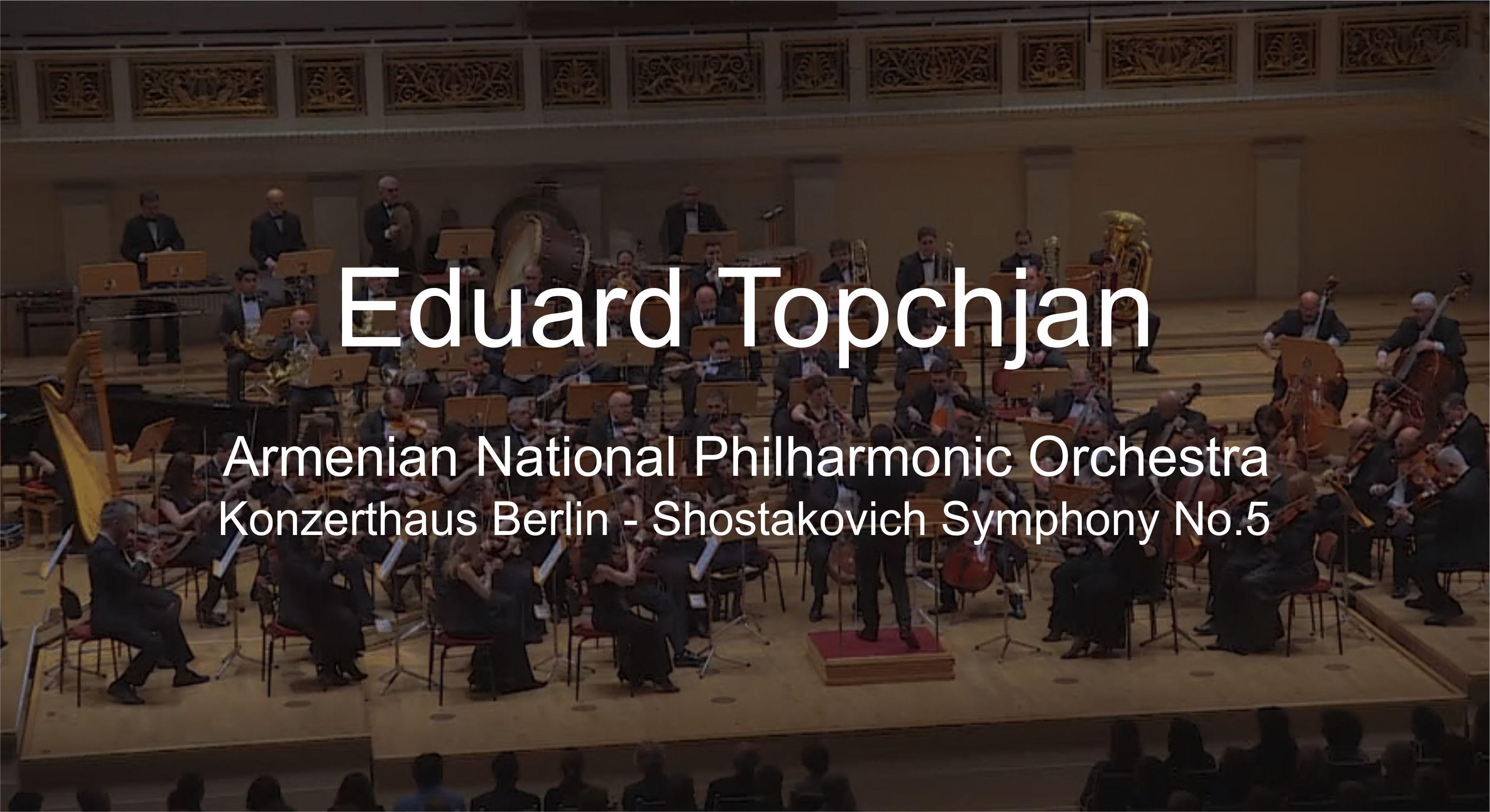 Shostakovich Symphony No.5, Berlin 2018
